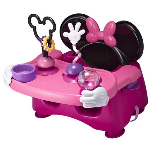 The First Years Disney Baby Minnie Mouse Helping Hands Feeding & Activity Seat - image 1 of 7