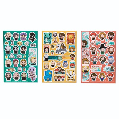 284ct Harry Potter Stickers