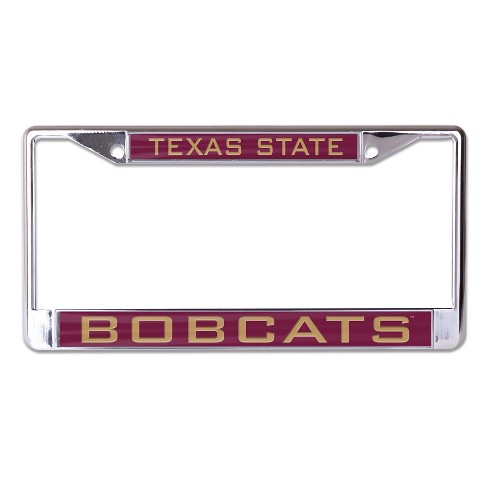 NCAA Texas State Bobcats License Plate Frame : Target