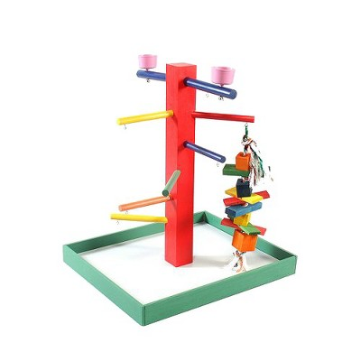 Prevue Pet Products Parrot Playpen - Green - Large