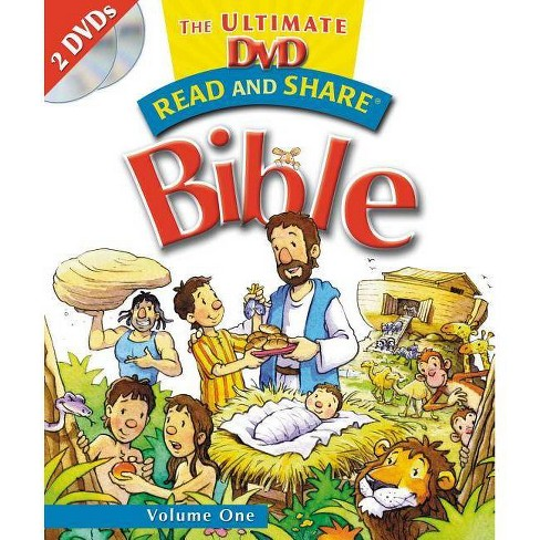 Read and Share: The Ultimate DVD Bible Storybook - Volume 1 - by  Gwen Ellis (Hardcover) - image 1 of 1