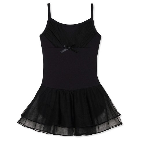 Freestyle by Danskin Girls' Activewear Dresses Black - image 1 of 2