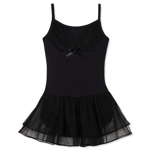 d37972c5c41a Freestyle By Danskin Girls  Activewear Dresses Blac   Target