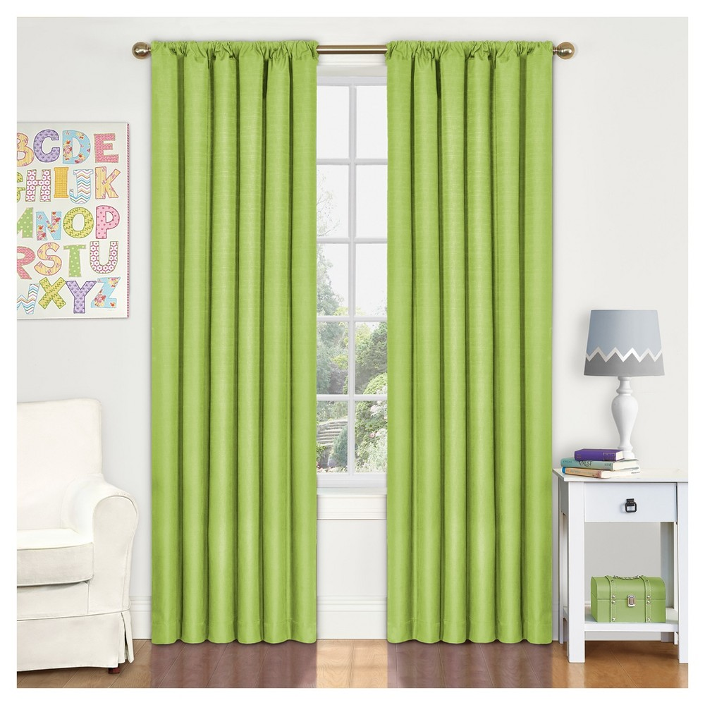 "Image of ""Eclipse My Scene Kendall Blackout Window Panel - Lime (42"""" X 63""""), Size: 42X63, Green"""