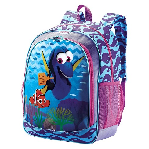 "American Tourister Disney 16"" Finding Dory Kids' Backpack - Blue - image 1 of 2"