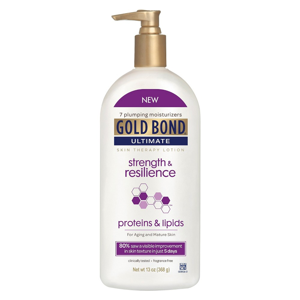 Image of Gold Bond Strength And Resilienc Hand And Body Lotions - 13oz