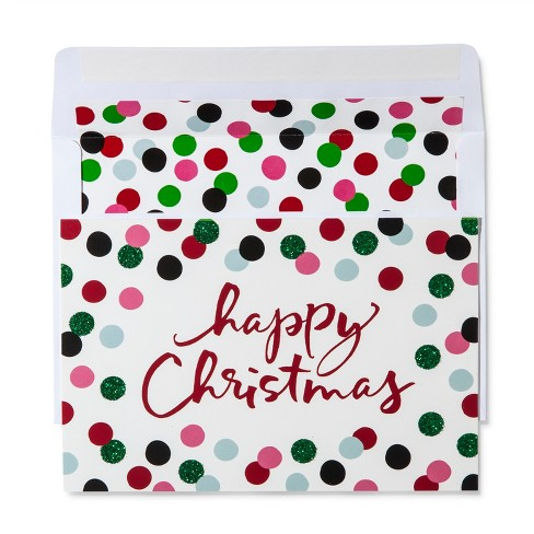 American Greetings 40ct Happy Christmas Holiday Boxed Cards - image 1 of 1