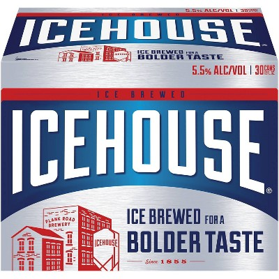 Icehouse Ice Lager Beer - 30pk/12 fl oz Cans