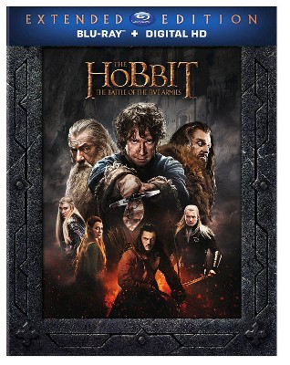 The Hobbit: Battle of the Five Armies (Extended Edition/Blu-Ray) (DVD)