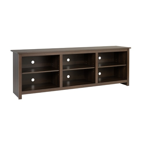 Tv Stand For Tvs Up To 80 Espresso, Target Furniture Tv Stands