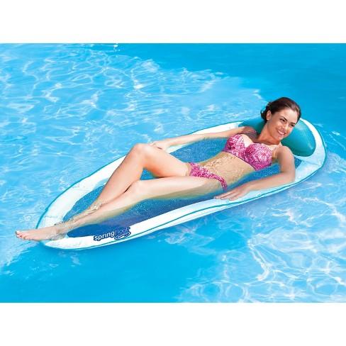 Swimways Spring Float Pool Floating Lounger : Target