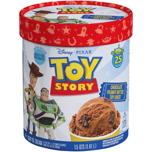 Best of Pixar Limited Edition: Toy Story Chocolate Peanut Butter Toy Chest Ice Cream - 48oz - image 1 of 3
