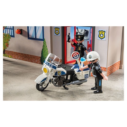 Playmobil Take Along Police Station image number null