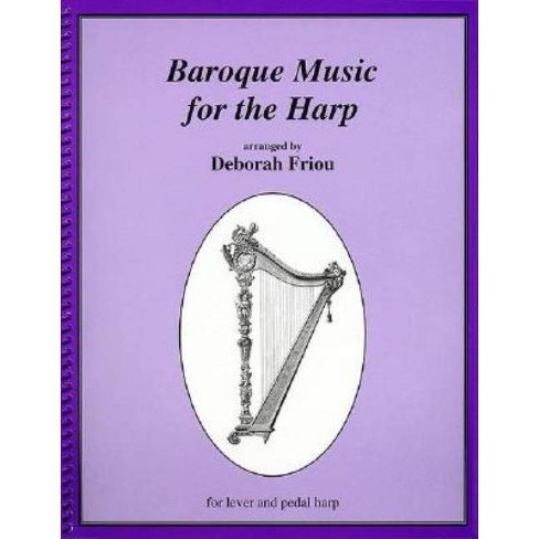 Baroque Music for the Harp - (Paperback) - image 1 of 1