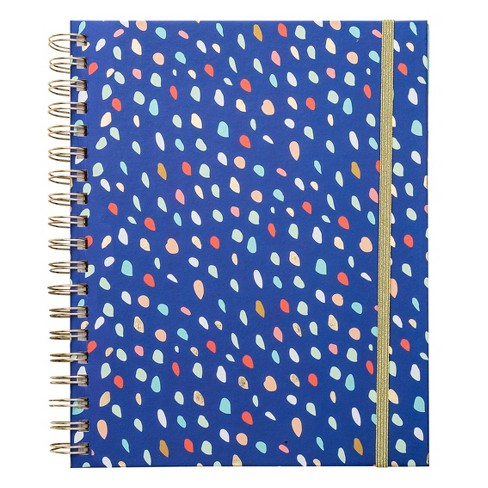 Undated Brit + Co® Planner Weekly Monthly - Blue Confetti - image 1 of 6