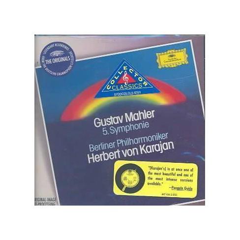 Herbert v.  Gustav [Composer]; Karajan Mahler - Mahler: Sym 5 (CD) - image 1 of 1