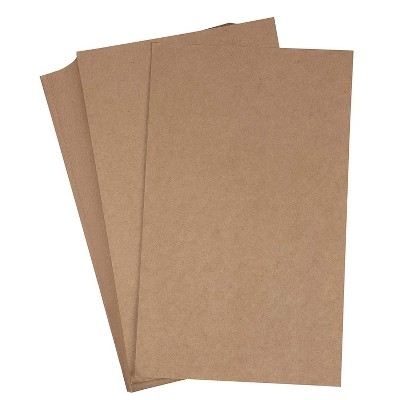 "96-Sheet Kraft Stationery Papers, Legal Sized, 120GSM, Perfect for Arts, Crafts & Printing, 8.5 x 14"", Brown"