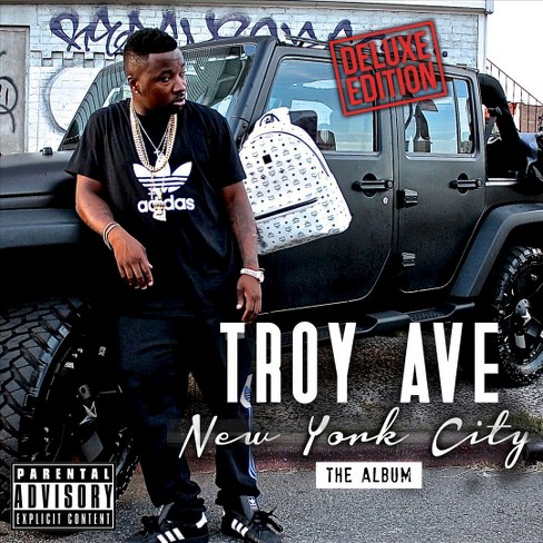 Troy Ave - New York City (CD) - image 1 of 1