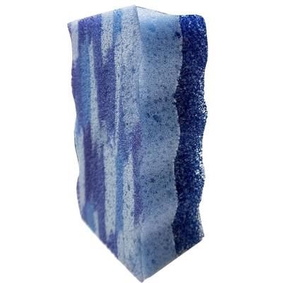 Bright Box Wave Scrub + Wipe - Blue