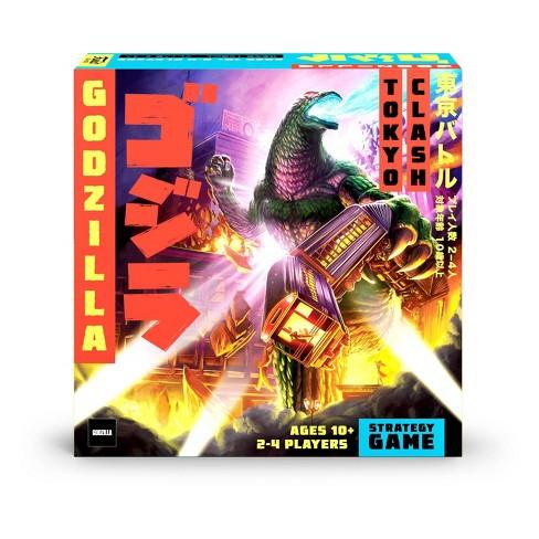Funko Godzilla Tokyo Clash Strategy Game Target