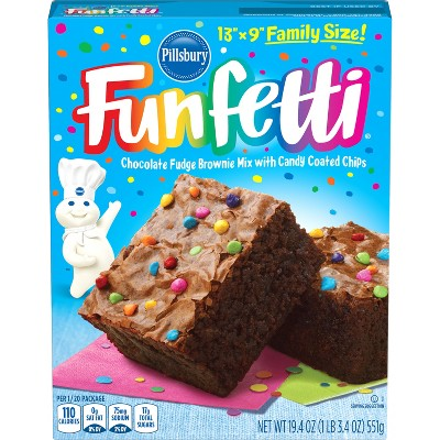Baking Mixes: Pillsbury Funfetti Brownie Mix