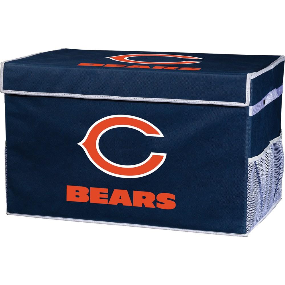 Nfl Franklin Sports Chicago Bears Collapsible Storage Footlocker Bins Large