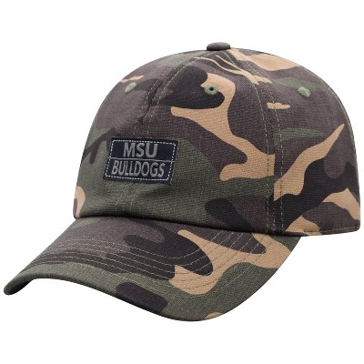 NCAA Mississippi State Bulldogs Men's Camo Washed Relaxed Fit Hat