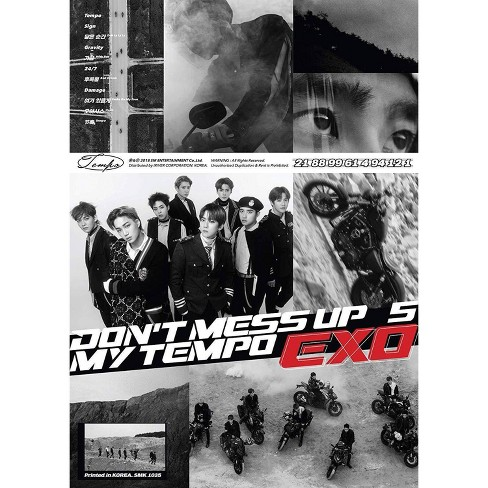 Exo The 5Th Album - Don'T Mess Up My Tempo Allegro Ver (CD) - image 1 of 1