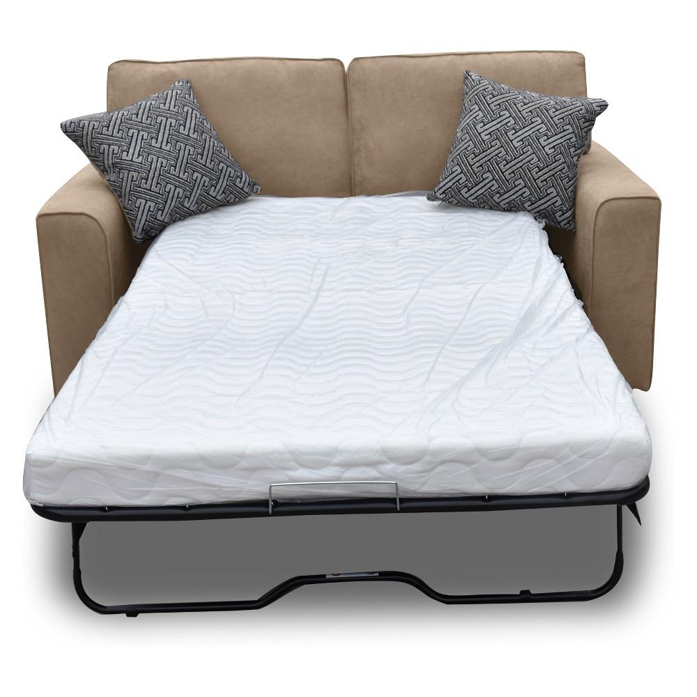 Acme Furniture Catherine Loveseat Sleeper Khaki (Green)