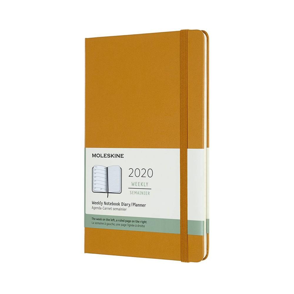 "Image of ""2020 Moleskine Planner 5""""x 8"""" Yellow"""