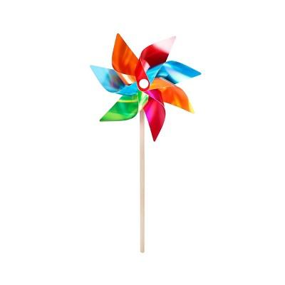 "20"" Pinwheel Foil Color Block Rainbow - Sun Squad™"