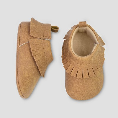 Baby Boys' Moccasin - Just One You® made by carter's Brown 3-6M