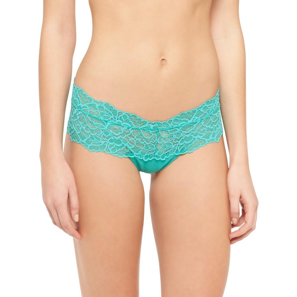 Women's Lace Cheeky - Xhilaration High Tide S