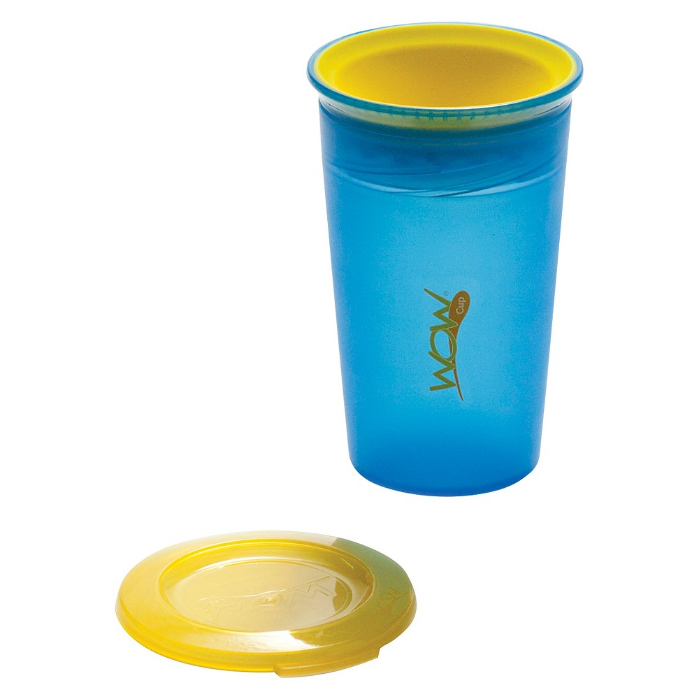 Wow Cup Spill Free 360-Degree Drinking Edge Training Cup 12M+ Blue