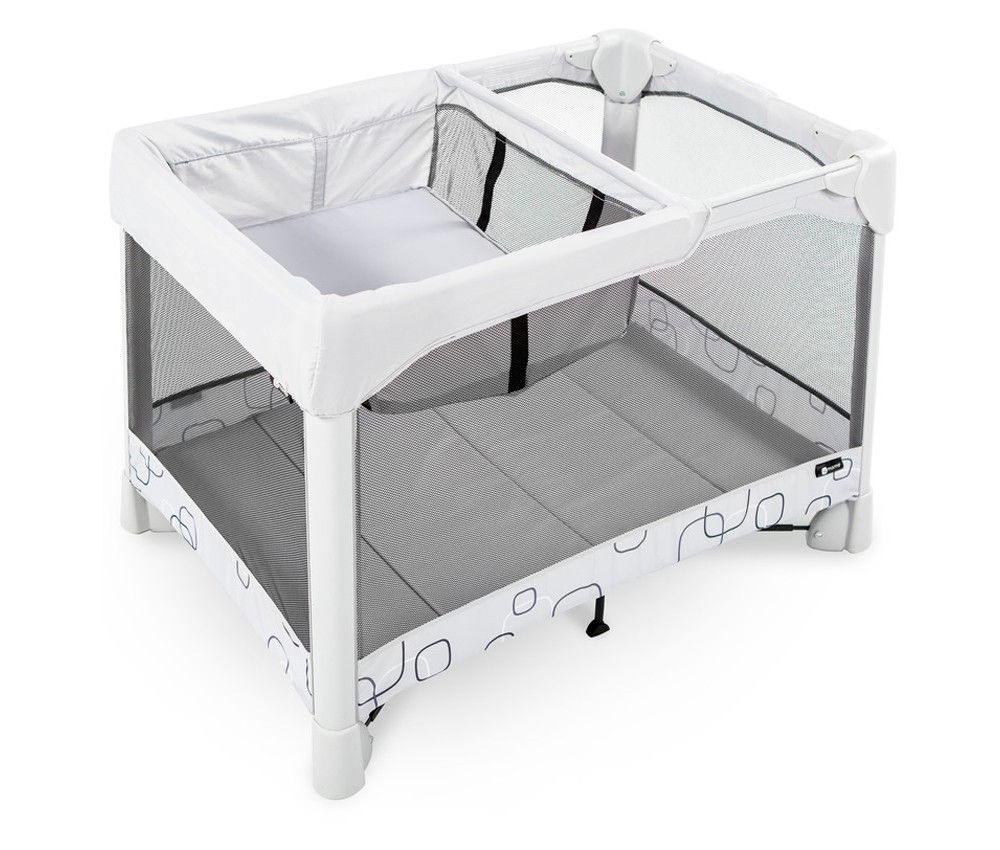 Image of 4moms Breeze Classic Playard - Light Gray