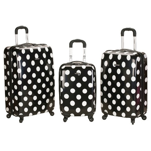 Rockland Laguna Beach 3pc ABS Spinner Luggage Set - image 1 of 3