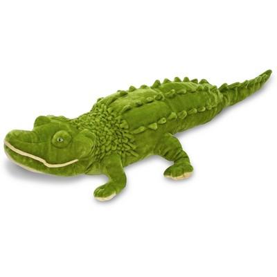 Melissa & Doug® Giant Alligator - Lifelike Stuffed Animal (nearly 6 feet long)