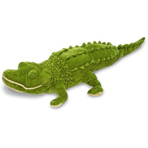 Melissa & Doug Giant Alligator -  Lifelike Stuffed Animal (nearly 6 feet long) - image 1 of 3