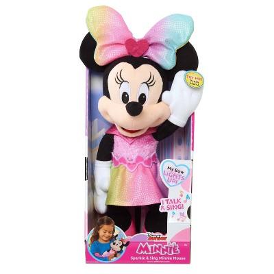 Disney Junior Sparkle & Sing Minnie Mouse Plush