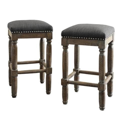 Fantastic Lynton 26 Counter Stool Set Of 2 Evergreenethics Interior Chair Design Evergreenethicsorg