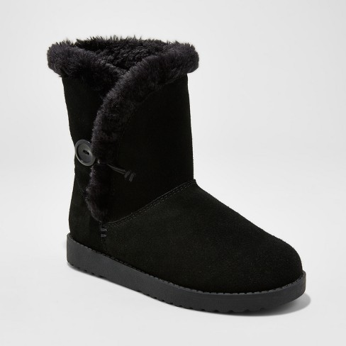 Women's Daniah Suede Short Winter Boots - Mossimo Supply Co.™ - image 1 of 3