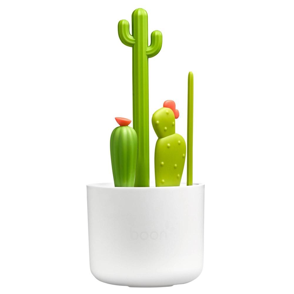 Image of Boon Cacti Bottle Cleaning Brush Set