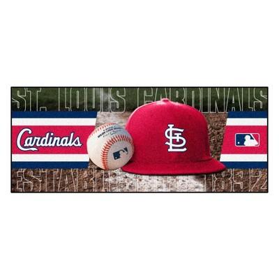"MLB St. Louis Cardinals 30""x72"" Runner Rug - Red"