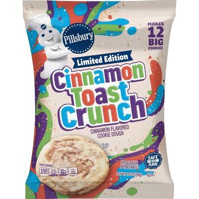 Pillsbury Ready to Bake Cinnamon Toast Crunch Cookie Dough - 14oz