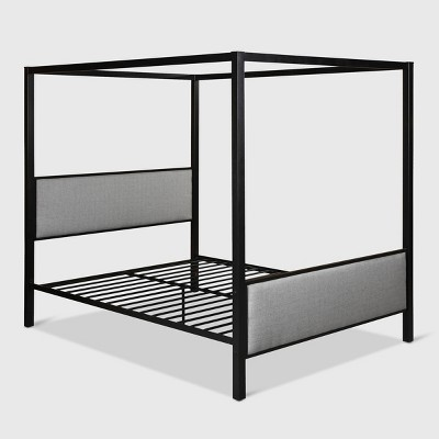 Duane Traditional Iron Frame Canopy Bed  - Christopher Knight Home