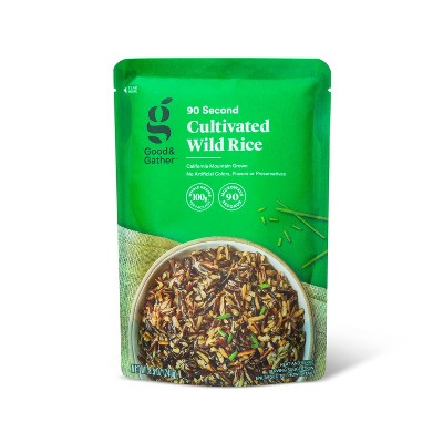 90 Second Cultivated Wild Rice Microwavable Pouch - 8.5oz - Good & Gather™