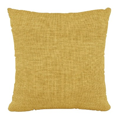 "18""x18"" Zuma Polyester Pillow Golden - Skyline Furniture"