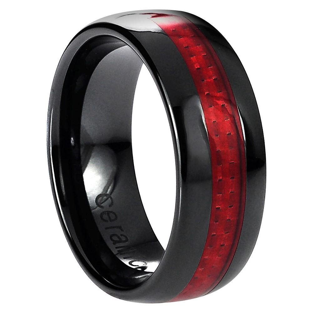 Men's Daxx Anniversary Ring - Red (10.5)