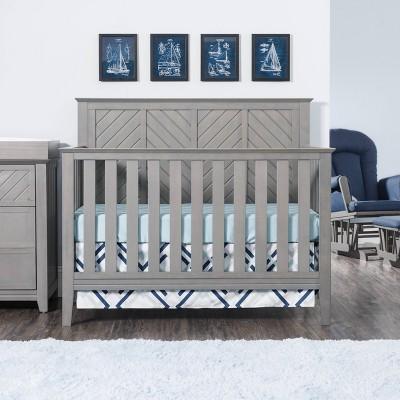Child Craft Atwood Convertible Crib - Lunar Gray