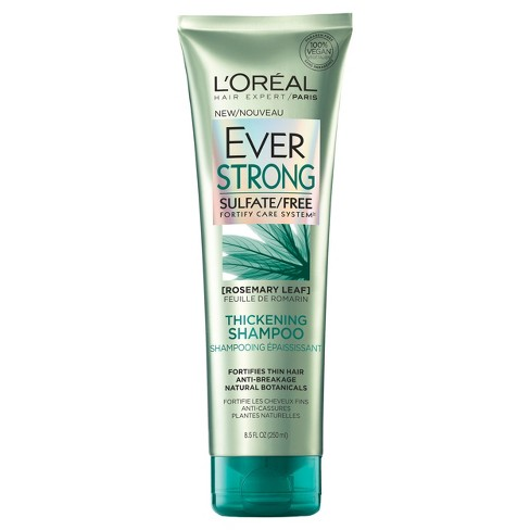 l oreal paris everstrong sulfate free thickening shampoo 8 5 fl oz